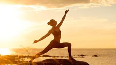 Sun Salutation Definition - Sun Salutation is one of the most important yoga practices. It is the set of 12 yoga poses which can be performed while. Fitness Workouts, Sport Fitness, Woman Fitness, Burpees, Cross Training, Sun Salutation Sequence, Outdoor Workout, Surya Namaskara, Yoga Playlist