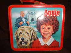 Annie Metal Lunch Box 1981 (No Thermos)
