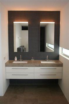 RMR Wastafelmeubel Decor, Bathroom Vanity, Vanity, Furniture, House, Bathroom Mirror, Home Decor, Bathroom Lighting, Bathroom