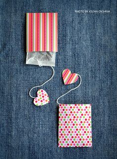 Advent calendar idea - paper pockets, add numbers and star tags or other punch shape