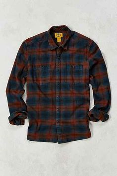 Stapleford Tucker Acid Flannel Button-Down Shirt - Urban Outfitters