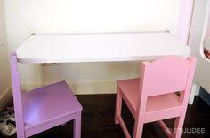 Binnenkijken in … een roze-paarse meisjeskamer met stapelbed en kast op maat in Amsterdam na STIJLIDEE Interieuradvies en Styling via www.stijlidee.nl