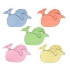 green sprouts 5 Pack Tiny Bath Mats Young babies need help protecting their hygiene until they learn healthy habits themselves From tooth and gum to grooming,  our baby care products are all BPA,  PVC and Nitrosamine free. Rubber mats suction to bathtub. Textured surface for safety. 100% rubber; Contains rubber latex.  #GREENSPROUTS #BabyProduct