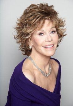 Jane Fonda-I love her hair!!