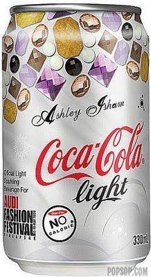 fashion designer Ashley Isham for coca-cola