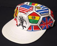 """SOCCER BALL""HAT World Flag National Countries Futbol World Cup Olympic #Dyot #BaseballCap"