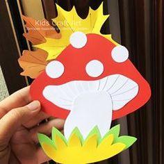 Paper fall crafts for kids umbrella rain Fall Crafts For Kids, Paper Crafts For Kids, Spring Crafts, Toddler Crafts, Projects For Kids, Diy For Kids, Diy And Crafts, Arts And Crafts, Kids Umbrellas