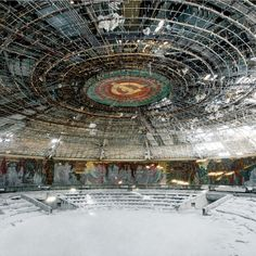 Rebecca Litchfield has toured former Soviet countries to photograph the once-monumental structures around the Eastern Bloc that have fallen into decay.
