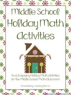 This bundle includes 20 activities to be used in your classroom during the Christmas and Winter holiday season!