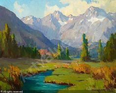 marion wachtel painting for sale | WACHTEL Marion Kavanagh,Sierra Stream,Bonhams,San Francisco