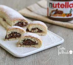 New Recipes, Sweet Recipes, Vegan Recipes, Cooking Recipes, Nutella Light, Italian Desserts, Recipe For 4, Chocolate Recipes, Love Food