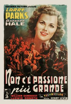 VINTAGE MOVIE POSTER Italian Movie Poster by EncorePrintSociety