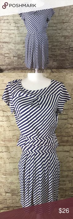 J. Crew Striped Dress Lightweight stripped dress in like new condition no flaws noted. J. Crew Factory Dresses Mini