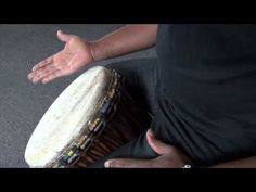 Exercise 1: How to play the djembe lesson - african drum and rhythm training - YouTube