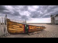 Beautiful New Jersey Shore Timelapse Video