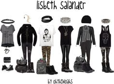 """lisbeth salander"" by ohthewoahs on Polyvore"