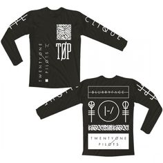 Emblem Long Sleeve Shirt | Official Twenty One Pilots Store
