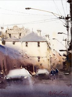 watercolor by josepph zbukvic