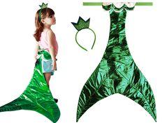 qual menina n o adoraria se vestir com uma cauda de sereia