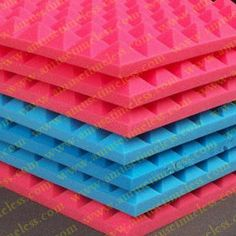 Sound insulation cotton new style acoustic material stick on wall acoustic foam 5cm thickness(China (Mainland))