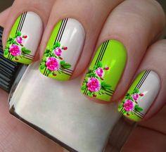 Gell Nails, Nagellack Design, Elegant Nails, Hot Nails, Types Of Nails, Cute Nail Designs, Nail Arts, Trendy Nails, Spring Nails