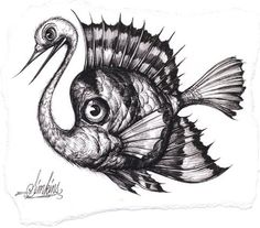 Give me a name people come on! Bird Drawings, Animal Drawings, Tattoo Drawings, Tattoos, Rabbit Drawing, Pop Surrealism, Whimsical Art, Fantasy Characters, Fantasy Art
