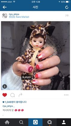 instagram nail  chu