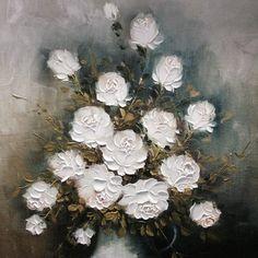 Des roses blanches symbolisant la pureté <3