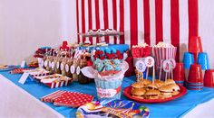 My Little Party Blog: Fiesta Erase una vez el Circo!