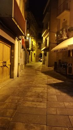 Guisona, Street By Night, Without Touch-ups, HuaweiLeicaP9, Marc Barrachina