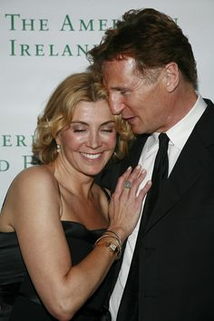 Natasha Richardson (third degree) and Liam Neeson (second degree)