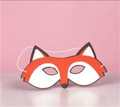 Create this fun fox mask for your next party event! Dr Seuss Day, Dr Suess, Craft Activities For Kids, Crafts For Kids, Preschool Ideas, School Spirit Days, Dr Seuss Crafts, Colorful Birthday Party, Felt Kids
