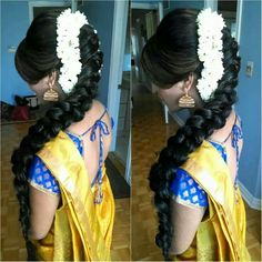 How's this hairdo for engagement. .