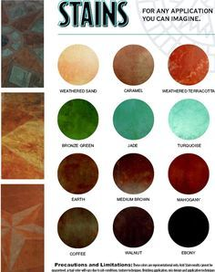 repaircrete.com for acid stain concrete stain to look like turquoise