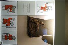 The Klappenrock jacket. The Vikings of Bjornstad - Viking Museum Haithabu Viking Garb, Viking Reenactment, Viking Men, Viking Dress, Viking Life, Norse Clothing, Clothing And Textile, Medieval Clothing, Textiles