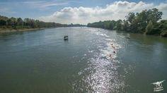 Sweem in the river Po competiton 2015