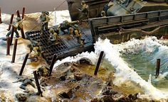 D-Day, 1/72 scale. Wow!