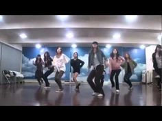 "SNSD/Girls' Generation ""Mr. Taxi"" mirrored Dance Practice (Yoona, Tae-yeon, Tiffany, Yuri, Seohyun, Su-Yeong, Sunny, Hyo-yeon and Jessica)"
