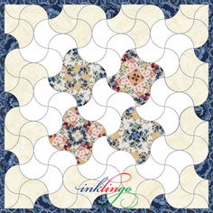 Tessellating for Clamshell Quilts Lap Quilts, Scrappy Quilts, Quilt Blocks, Paper Piecing Patterns, Quilt Patterns, Clamshell Quilt, Miniature Quilts, Quilt Stitching, English Paper Piecing
