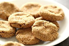Healthier Soft and Chewy Ginger Cookies | Six Sisters' Stuff