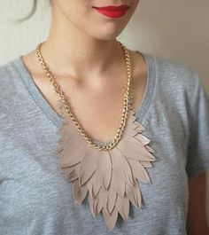 Leather-feather