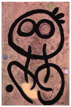 Self Portrait I, Joan Miro