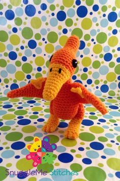 SnuggleMe Pterodactyl by SnuggleMeStitches on Etsy