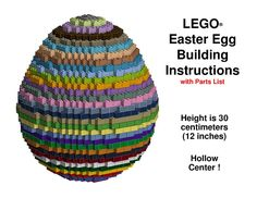 Lego Easter Egg Building Instructions.pdf – OneDrive Lego Creationary, Lego Craft, Lego Projects, Projects For Kids, Lego Activities, Lego Room, Lego Design, Lego Worlds, Children