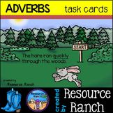 adverbs task cards - parts of speech