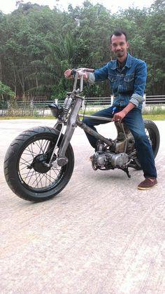 Honda c 50 custom