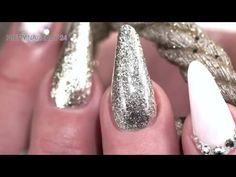 "Nailart ""Elegant Silver"" mit dem neuen Luxury Shine - YouTube"
