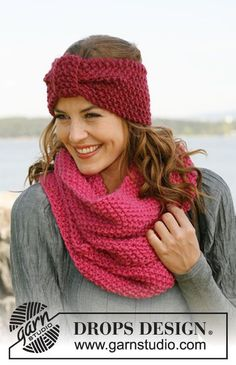 b Strawberry Field Neck warmer pattern by DROPS design 2019 Strawberry Field Neck Warmer. free The post b Strawberry Field Neck warmer pattern by DROPS design 2019 appeared first on Yarn ideas. Knitting Blogs, Knitting Patterns Free, Free Knitting, Free Pattern, Neck Pattern, Hat Patterns, Drops Design, Knitted Headband, Knitted Hats