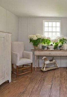 Love The Bench! Note To Cee..paint The Rocking Horse This Shade.