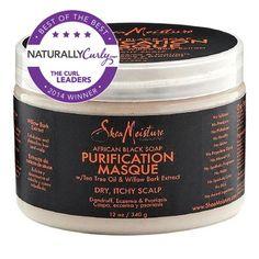 SheaMoisture African Black Soap Purification Masque - CurlMart
